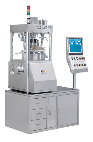 R & D Tablet Press Machine & Tablet Compression Machine in India
